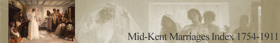 Mid-Kent Marriage Index Banner